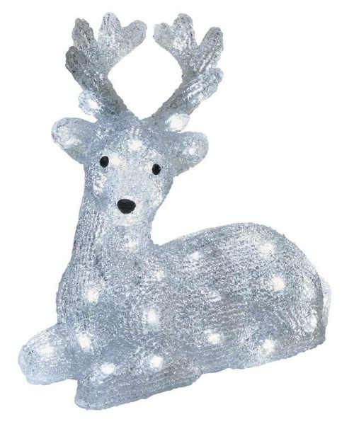 LED vianočná dekorácia v podobe svietiaceho soba