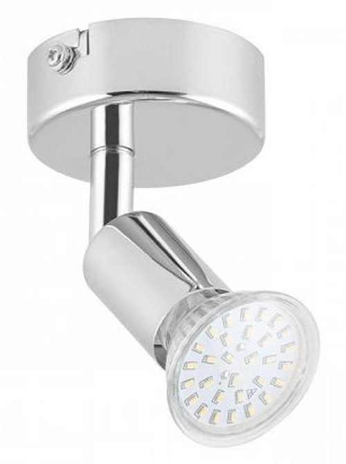 Lightcraft Kvalfoss 1, 3 W LED bodová naklápacia otočná lampa
