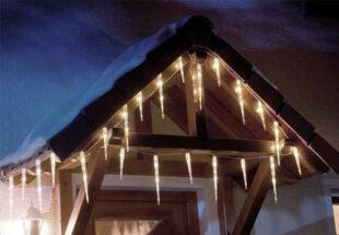 Veľké svietiace rampúchy na strechu