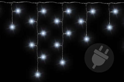Vianočné dažďové svetlo pre dom a záhradu 2,7 m 72 LED