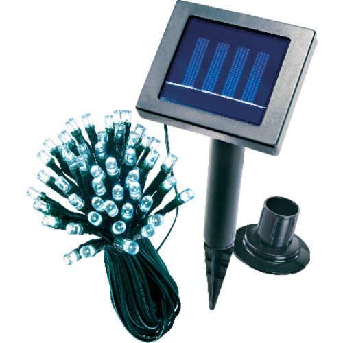 Vonkajšia moderná a praktická solárna LED reťaz